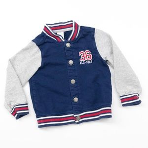 Carter's All-Star baby boys varsity track jacket